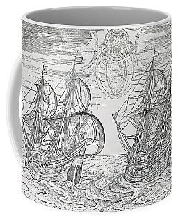 Arctic Phenomena From Gerrit De Veer S Description Of His Voyages Amsterdam 1600 Coffee Mug
