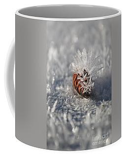 Arctic Pine Cone Porcupine Coffee Mug