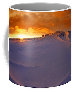 Arctic Sea Ocean Water Antarctica Winter Snow Coffee Mug by Paul Fearn