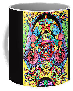 Arcturian Ascension Grid Coffee Mug