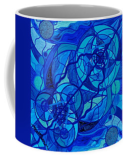 Arcturian Calming Grid Coffee Mug