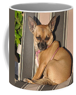 Are  You Talking To Me Coffee Mug by Jay Milo