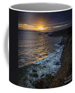Ares Estuary Mouth Galicia Spain Coffee Mug