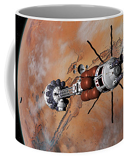 Ares1 Within Range For Rendezvous Coffee Mug by David Robinson