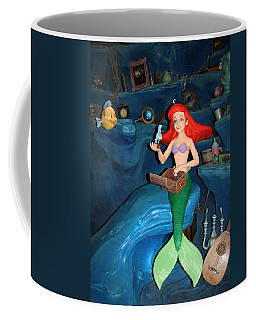 Ariel Coffee Mug by David Nicholls