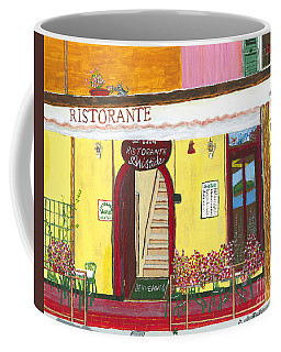Aristede In Cinque Terra Coffee Mug