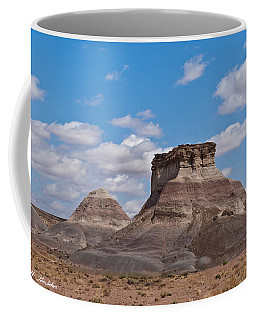 Coffee Mug featuring the photograph Arizona Desert And Mesa by Jeff Goulden