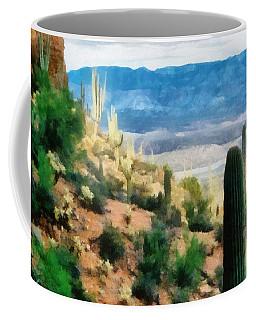 Arizona Desert Heights Coffee Mug
