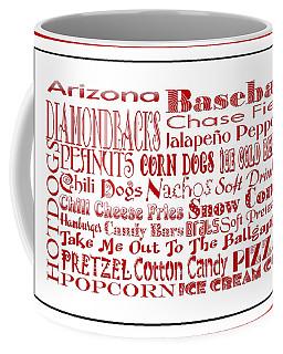 Arizona Diamondbacks Game Day Food 3 Coffee Mug