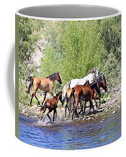 Arizona Wild Horse Family Coffee Mug