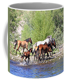 Arizona Wild Horse Family Coffee Mug