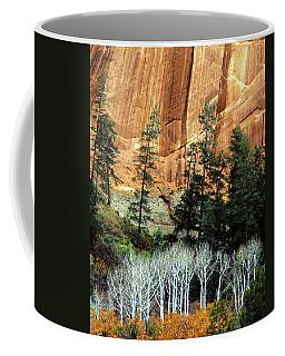 Arizona's Betatkin Aspens Coffee Mug by Ed  Riche
