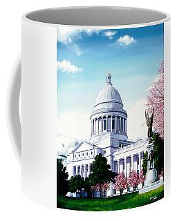 Arkansas Capitol Blossoms Coffee Mug