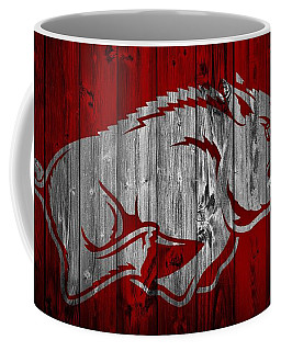 Arkansas Razorbacks Barn Door Coffee Mug