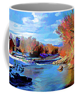 Arkansas River In Salida Co Coffee Mug