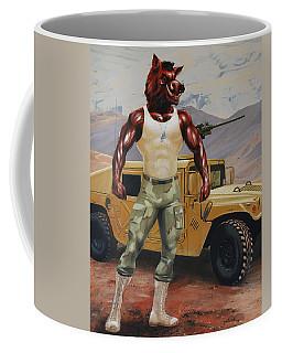 Arkansas Soldier Coffee Mug