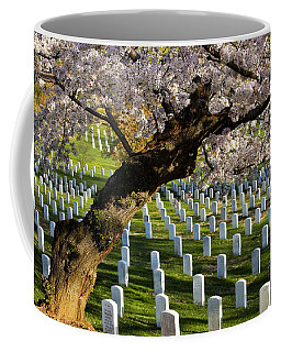 Coffee Mug featuring the photograph Arlington National Cemetary by Brian Jannsen