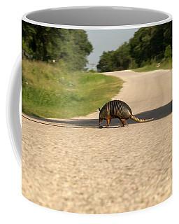Armadillo Crossing Street Coffee Mug
