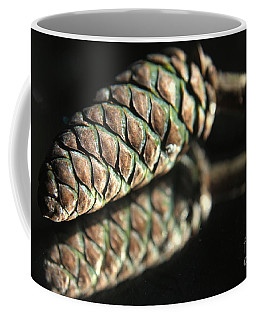 Armored Pine Cone Coffee Mug