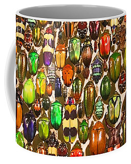 Army Of Beetles And Bugs Coffee Mug