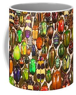 Army Of Beetles And Bugs Coffee Mug by Brooke T Ryan