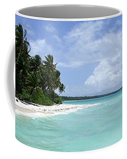 Coffee Mug featuring the photograph Arno Island by Andrea Anderegg
