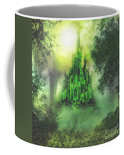 Arrival To Oz Coffee Mug by Mo T