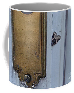 Arrowhead Doorbell Moth Coffee Mug
