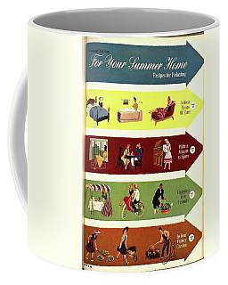 Arrows And Illustrations Coffee Mug