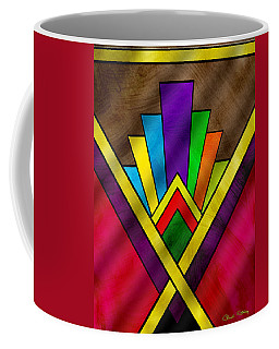 Art Deco Pattern 7v Coffee Mug
