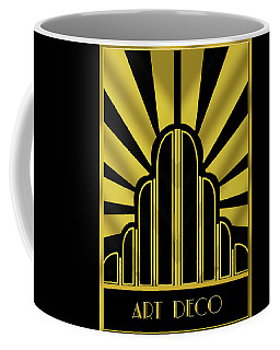 Art Deco Poster - Title Coffee Mug