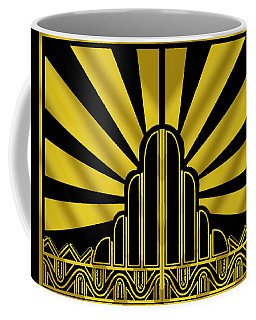 Art Deco Poster - Two Coffee Mug