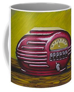Art Deco Radio Coffee Mug