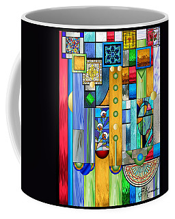 Art Deco Stained Glass 1 Coffee Mug