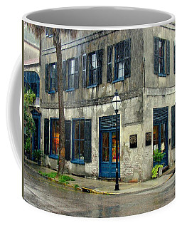 Coffee Mug featuring the photograph Art Gallery In The Rain by Rodney Lee Williams