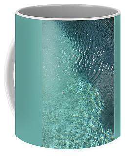 Art Homage David Hockney Swimming Pool Arizona City Arizona 2005 Coffee Mug