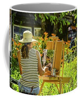Art In The Garden Coffee Mug