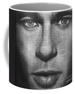 Art In The News 32- Brad Pitt Coffee Mug