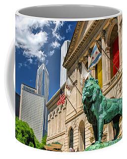 Art Institute In Chicago Coffee Mug