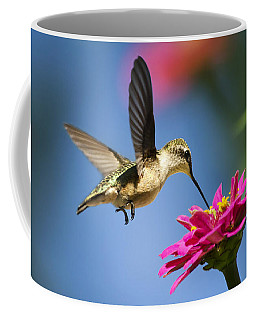 Art Of Hummingbird Flight Coffee Mug