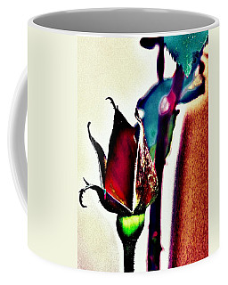 Coffee Mug featuring the photograph Artful Bud by Faith Williams