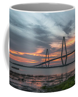 Coffee Mug featuring the photograph Orange Nebulous by Dale Powell