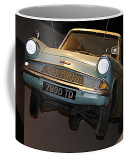 Arthur's Flying Ford Anglia Coffee Mug by David Nicholls