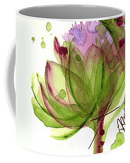 Artichoke Flower Coffee Mug