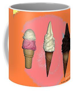 Artistic Ice Cream Coffee Mug