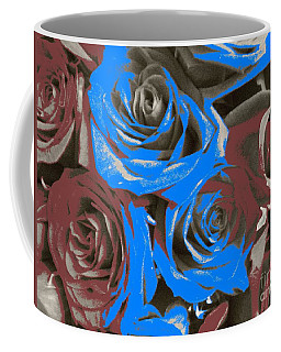 Coffee Mug featuring the photograph Artistic Roses On Your Wall by Joseph Baril