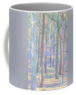 Coffee Mug featuring the photograph Artistic Trees by Susan Leonard