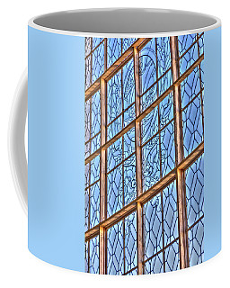 Coffee Mug featuring the photograph Artistic Window by Susan Leonard