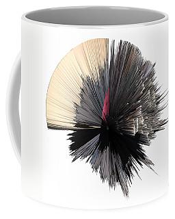 artotem iv painting as a Spherical Depth Map b Coffee Mug by Paul Davenport