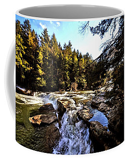 As Lawrence Welk Used To Say-ah Waterfall Waterfall Coffee Mug